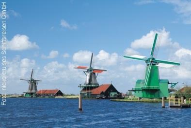 Holländische Windmühlen