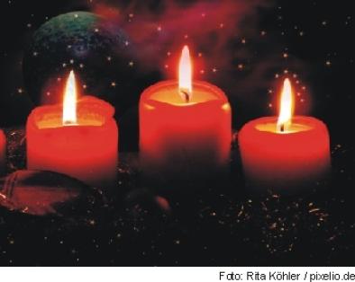 Advent im Kerzenlicht