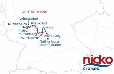 Silvester Flusskreuzfahrt Rhein Main