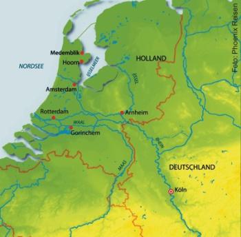 Höhepunkte in Holland mit der MS Alina