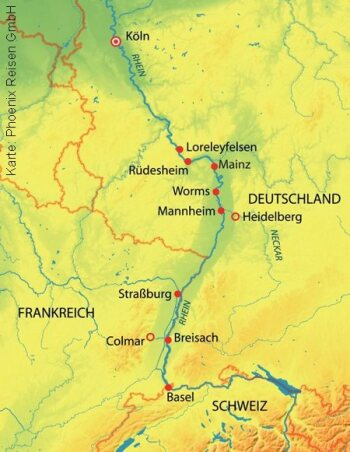 Rhein Romanze mit der MS Asara