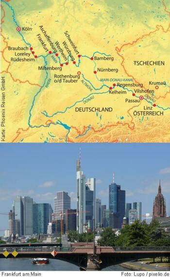 Von Passau nach Köln mit der MS Alena