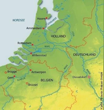 Höhepunkte Hollands mit der MS Alena