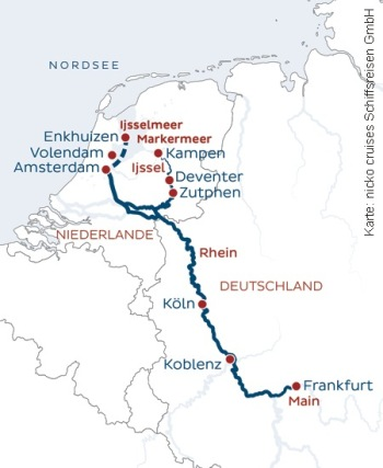 Von Frankfurt nach Amsterdam mit der nickoSPIRIT