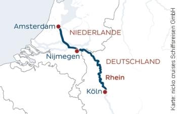 Adventskreuzfahrt nach Amsterdam mit der nickoSPIRIT